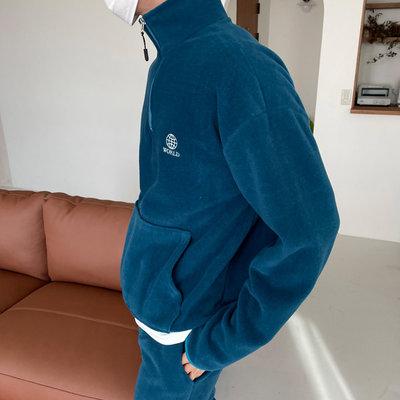 正韓男裝 WORLD電繡開襟上衣 SET-UP / 3色 / MT7838 KOREALINE 搖滾星球