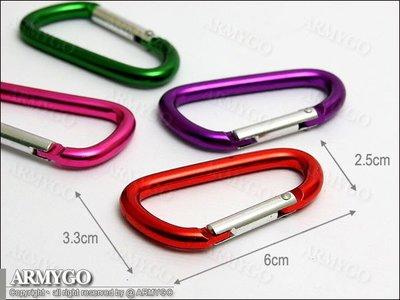 【ARMYGO】mini D型扣
