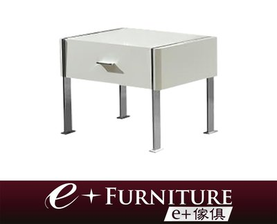 『 e+傢俱 』BB196 班奈狄克 Benedict 現代風格床頭櫃 收納櫃 | 床邊櫃 | 單抽屜收納