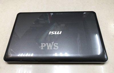 【MSI P600 I5 430M 二手機 中古機 遊戲 文書】15.6吋 2G  500G
