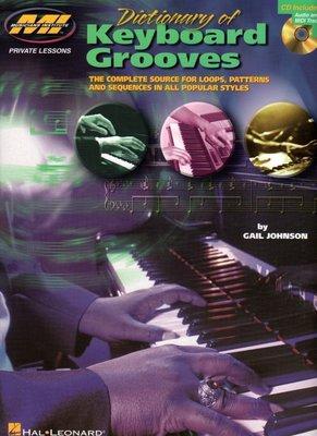 [ 反拍樂器 ] MI 進口書籍 Dictionary of keyboard grooves (附CD)