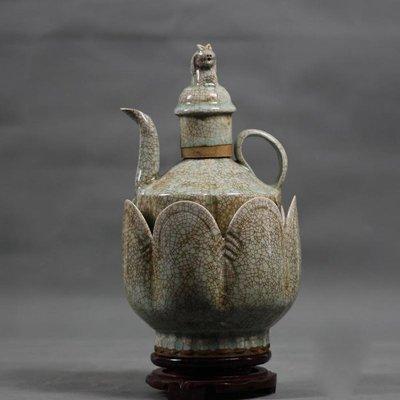仿古瓷器 宋哥窯花裂紋釉 阿達瓷器專用...
