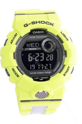 深水步有門市全新正版正貨1年保養 7日有壞包換 CASIO G-SHOCK 藍牙 Bluetooth GBD-800LU-9D