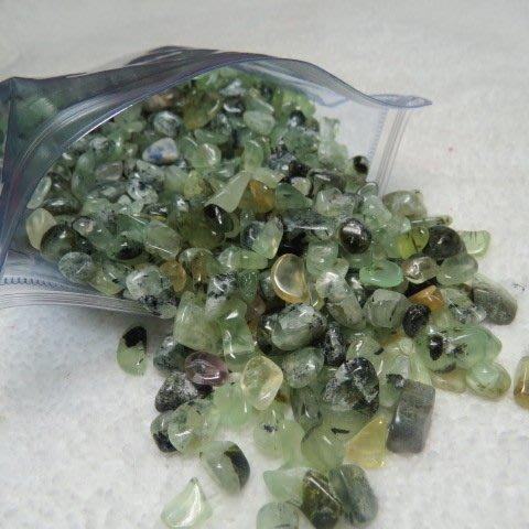 【競標網】精選天然漂亮葡萄石水晶碎石塊500克裝(回饋價便宜賣)限量20組(賣完恢復原價200元)