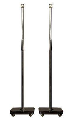 台中『 崇仁音響發燒線材精品網』Cambridge Audio Minx 專用 600P 調整型落地腳架(一對) 黑色