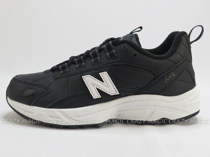 NEW BALANCE NB 608 老爹鞋 復古休閒鞋 皮革 黑色 男女尺寸 # ML615NBK
