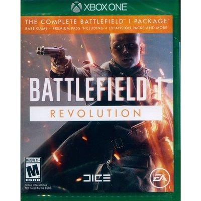 (全新外封膜破損) XBOX ONE 戰地風雲 1 變革版 中英文美版 Battlefield 1