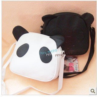 咪呀女包包女批發2013冬款可愛熊貓包貓貓包斜跨包日系韓歐美C21