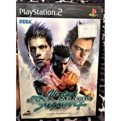幸運小兔 PS2遊戲 PS2 VR快打 4  Evolution 進化版  PlayStation2 日版 B4