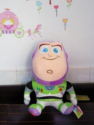 快樂城~全新正版迪士尼~玩具總動員  巴斯光年玩偶~高47公分~大款巴斯光年娃娃~生日情人禮物全省配送