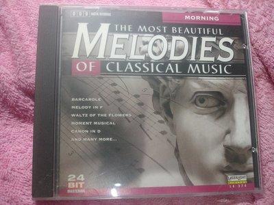 [原版光碟]G The Most Beautiful Melodies of Classical Music: Morn