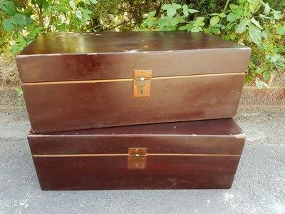 彰化二手貨中心(原線東路二手貨) --- 阿嬤ㄟ嫁妝 古早味 早期檜木箱 早期箱子