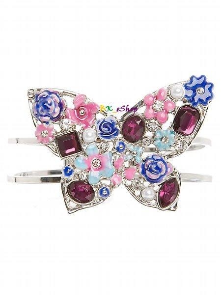 【美衣大鋪】☆ GUESS 正品☆Butterfly Hinge Bracelet 美麗蝴蝶手環
