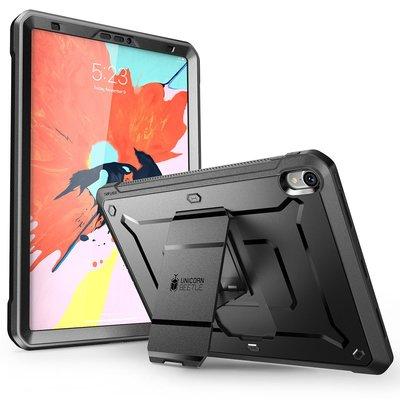 小花精品店-美國 iPad Pro 11寸2018防摔殼三防保護套帶支架帶一體膜