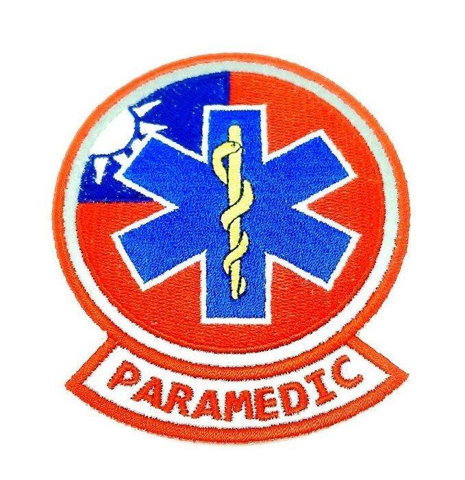 PARAMEDIC 生命之星國旗版-反光臂章