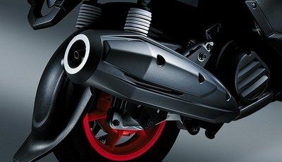 【車輪屋】YAMAHA 山葉原廠車殼&零件專賣 GTR aero 新款 排氣管護罩 防燙蓋 外蓋 特價$750