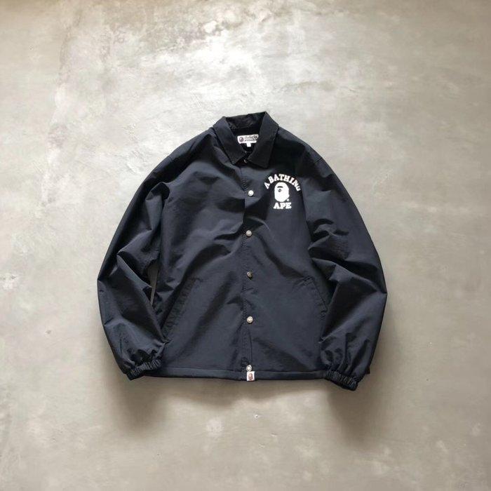☆COOKIE@猴子☆2019秋季補貨-基本款教練夾克-內裡鋪棉防水夾克!品質爆表-只有黑!!內有實穿圖