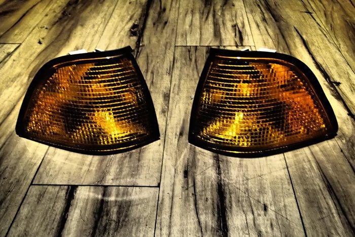 DJD19101605 BMW E36 4D 4門 原廠型 歐規 黃殼 角燈 方向燈 DEPO 一邊250