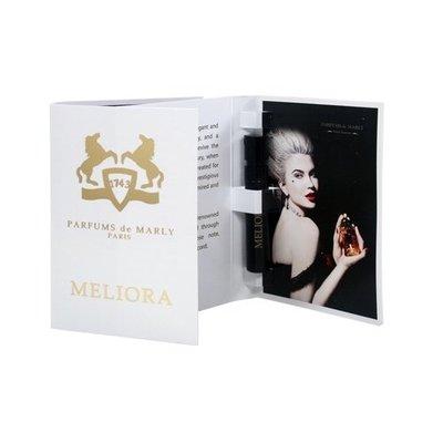 ☆MOMO小屋☆ PARFUMS de MARLY 美麗蘿拉 MELIORA 女性淡香精 1.2ml (原廠噴式)