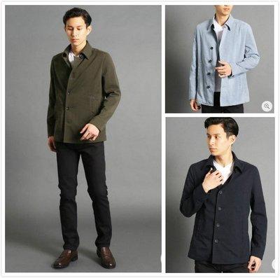 【傑森精品】日本 MONSIEUR NICOLE 日式 日系 韓版 春季新款 輕薄 吸汗速乾 防潑水 夾克 外套 3色