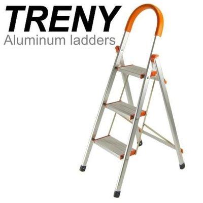 【TRENY直營】加寬鋁製三階扶手梯 ...