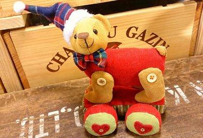 聖誕小熊布偶:小熊布偶 聖誕節 布飾 玩偶 公仔 家飾 居家 禮品