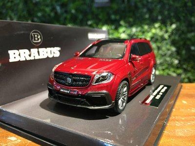 1/43 Minichamps Brabus 850 Mercedes-AMG GLS63 437037362【MGM】
