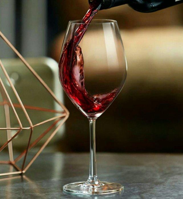 無鉛水晶玻璃手工吹製紅酒杯葡萄酒杯白酒杯高腳杯600ml/420ml/340ml 菱形系列【 蘇菲亞精品傢飾】