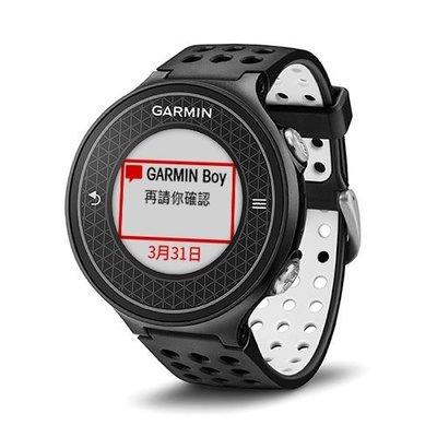 【n0900台灣健立最便宜】Garmin Approach S6 中文高爾夫球GPS腕錶 010-01195-05