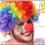 星星【萬聖聖誕派對Cosplay魔術小醜反串秀 】M337#-小丑紅色假鼻子- A乳膠鼻/ B泡棉鼻-單20元