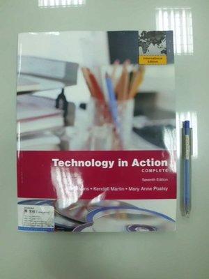 6980銤:A12-5cd☆2011年『Technology in Action 7/e(附光碟)』《PEARSON》