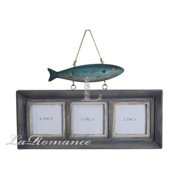 【芮洛蔓 La Romance】德國 Heidi 童趣家飾 - 小魚兒垂吊相框組 / 海洋風 / 兒童房 / 小孩房