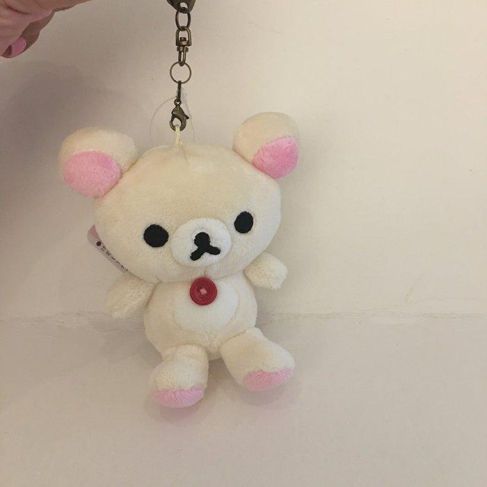 ^燕子部屋 ^ 正版San-X 【拉拉熊 /牛奶熊】公仔吊飾娃娃