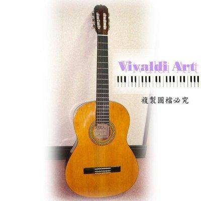 全新CG200亮彩橘原木色圓桶古典吉他大特價附琴袋備弦吉他教學 CD可貨到付