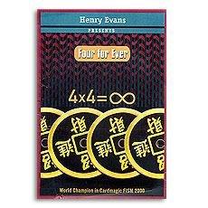 魔術道具 中國四大幣 Four For Ever by Henry Evans近距離魔術