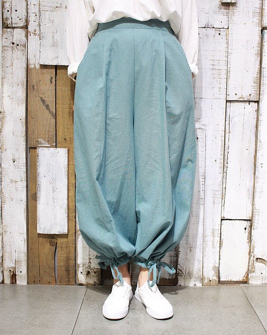 SEYES  {日本空運} 必備自然風基本款超寬鬆森林哈倫縮口褲