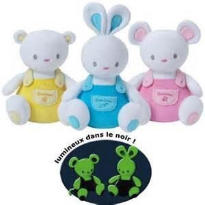 ☆奇奇娃娃屋(DL)☆法國luminou品牌,新科技布料~會發光的寶寶安撫玩偶~有三款(小)~200元