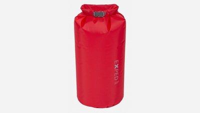 【Exped】Fold Drybag Minima 紅色 10L 30D 背包防水袋 防水內袋 防水內套