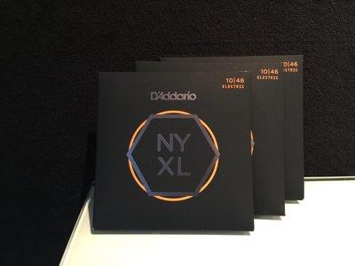 【反拍樂器】D'addario NYXL 10-46 Nickel Wound 電吉他弦 免運費Daddario 三包裝