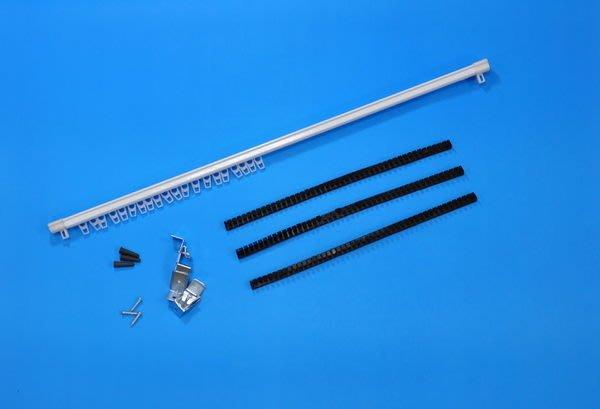 M型可伸縮軌道 (門桿/窗桿),另贈串珠專用定位條自行定間距,可掛布簾/串珠,3支免運費