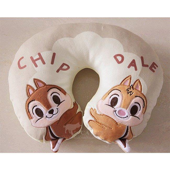 【FAT CAT HOUSE胖貓屋】軟綿綿卡通史迪奇 花栗鼠 熊抱哥 可愛U型枕護頸椎枕 旅行護頸枕 生日禮物