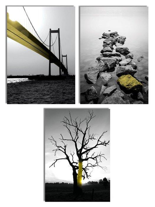 ☺暖暖屋☺傢居藝術館 複古黑白北歐風海邊樹裝飾畫/掛畫/有框畫/多款樣式/多種尺寸
