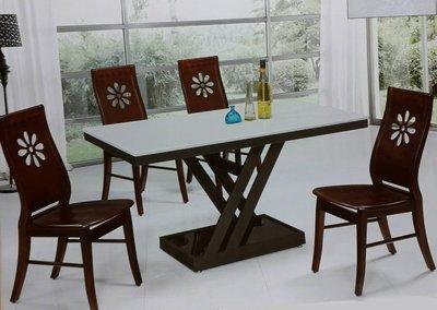 【南台灣傢俱】4.7尺銀閃花石大理石餐桌(不含餐椅)***市價$9000,超低特價$7500元