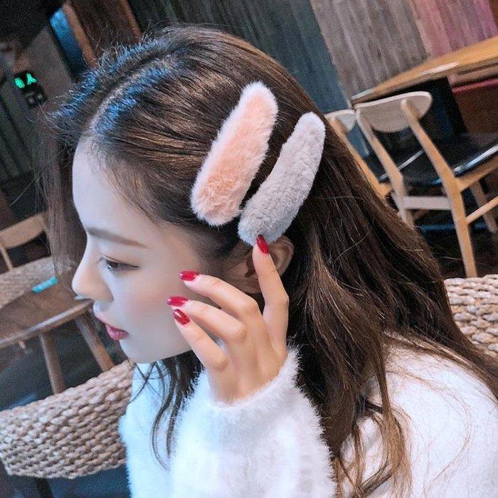 正韓東大門ins髮夾網紅髮飾邊夾bb夾少女髮卡毛毛頭飾成人髮飾品
