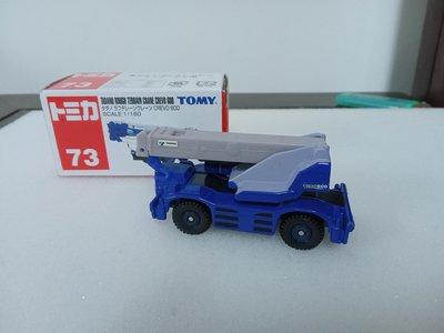 (多美小車)TOMY No.73 Tadano rough terrain crane crevo 600 (A389)