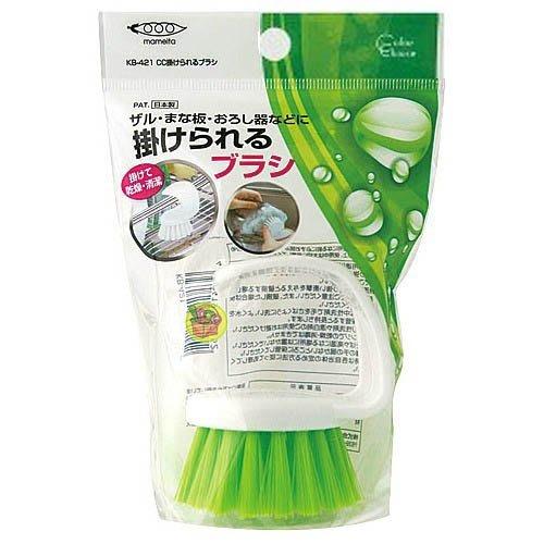 【JPGO日本購】日本製 MAMEITA 極細纖維 廚具清潔刷 KB-421 #152