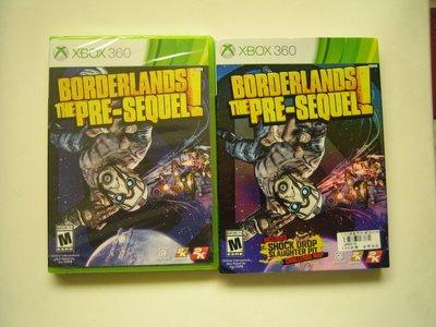 全新未拆 XBOX360邊緣禁地:續集前傳 Borderlands:The Pre-Sequel