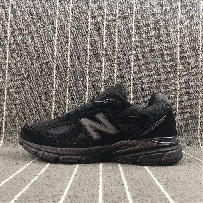 New Balance in USA NB 全黑 百搭 麂皮 經典 休閒運動鞋 M990BB4 男