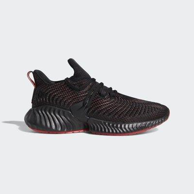 ADIDAS AlphaBounce Instinc 楊俊瀚同款 黑紅 慢跑鞋 休閒 D96536