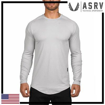 瘋狂金剛▸ 淺灰 ASRV Train-Lite™ Long Sleeve 網眼透氣吸濕排汗長袖T恤 運動 健身